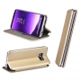 Book Forcell Elegance for  SAMSUNG Galaxy J7 2017 gold