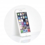 "5D Hybrid Full Glue Tempered Glass - APP IPHO XR  6,1"" white"