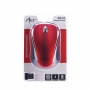 Art Optical wireless mouse USB AM-92 red