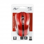 Art Optical wireless mouse USB AM-97 red
