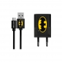 Charger with licence Batman Micro USB + cable black 001