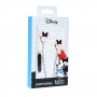Earphones with licence MICKEY MAT HEAD 3D black