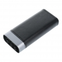 Power Bank PURIDEA S20 10 000 mAh black (3 input)