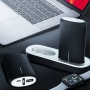 Power bank with docking station 2 x 5000 mAh black
