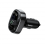 BASEUS T typed Bluetooth MP3 charger with car holder (Standard edition) Black CCTM-01