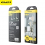 Cable AWEI CL91 Ipho gray